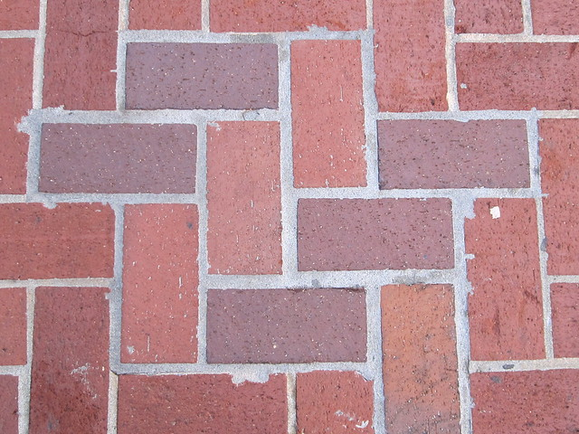 Red Brick Patterns http://www.flickr.com/photos/shaireproductions/5195920248/