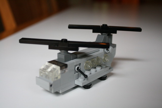 how to make a small lego airplane