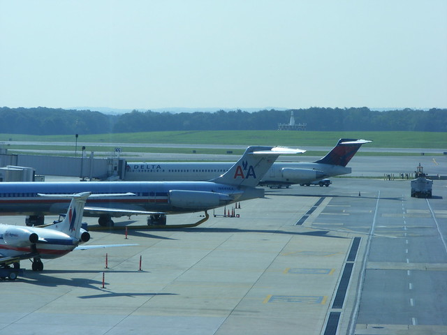 Bwi Airport American Airlines Delta Air Lines Flickr