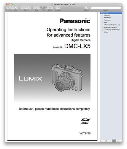 panasonic lx5 manual download the pdf now rh dpnotes com LX5 Engine Panasonic Lumix DMC LX5 Review