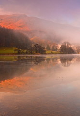 Misty Dawn over Grasmere (Explored)