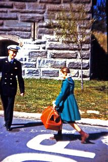 1953 Cadet Norm Pierpont and niece Barbara Anderson