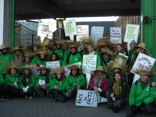 'Sing for the Climate' march in Brussels