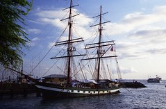 sailboat, sailing ship, schooner, vehicle, ship, windjammer, training ship, full-rigged ship, mast, sloop-of-war, tall ship, watercraft, boat, brig, brigantine,
