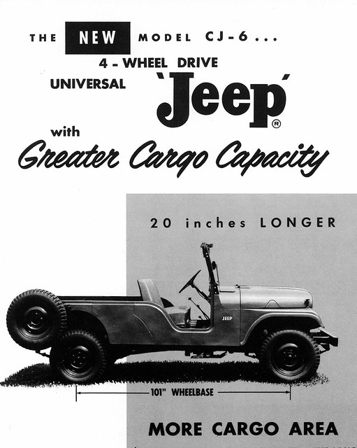 1960 Jeep Cj6 Universal Ad Flickr Photo Sharing