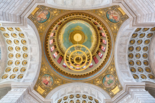 Rhode Island State House Rotunda #3