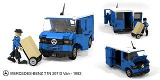 Mercedes-Benz T1N 307 D Van (1982)