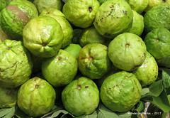 Green Fruit - Street Market - Madurai Tamil Nadu India