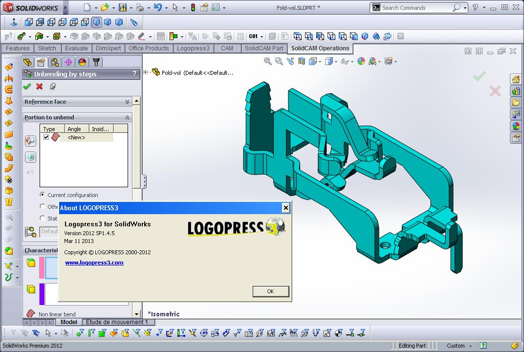 Designing with Logopress3 2012 SP1.4.5 for SolidWorks 2012-2013 x86+x64 full