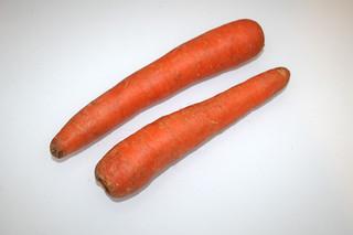 04 - Zutat Möhren / Ingredient carrots