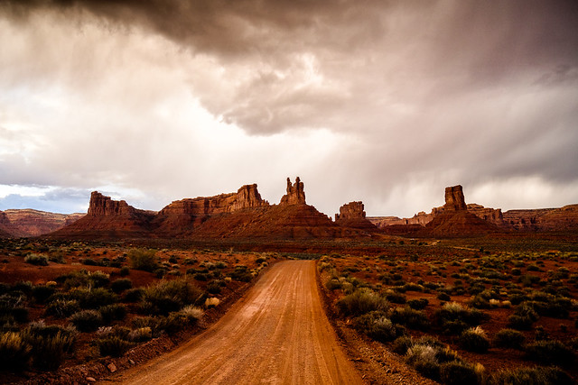 The Road to Ruin | Valley of the Gods, Bears Ears National Monument, UT