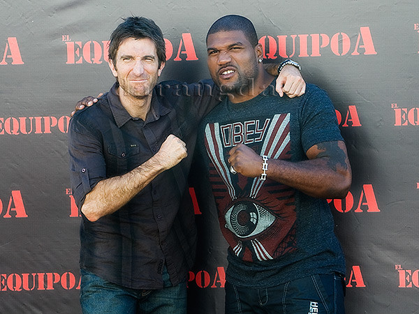 Sharlto Copley and Rampage