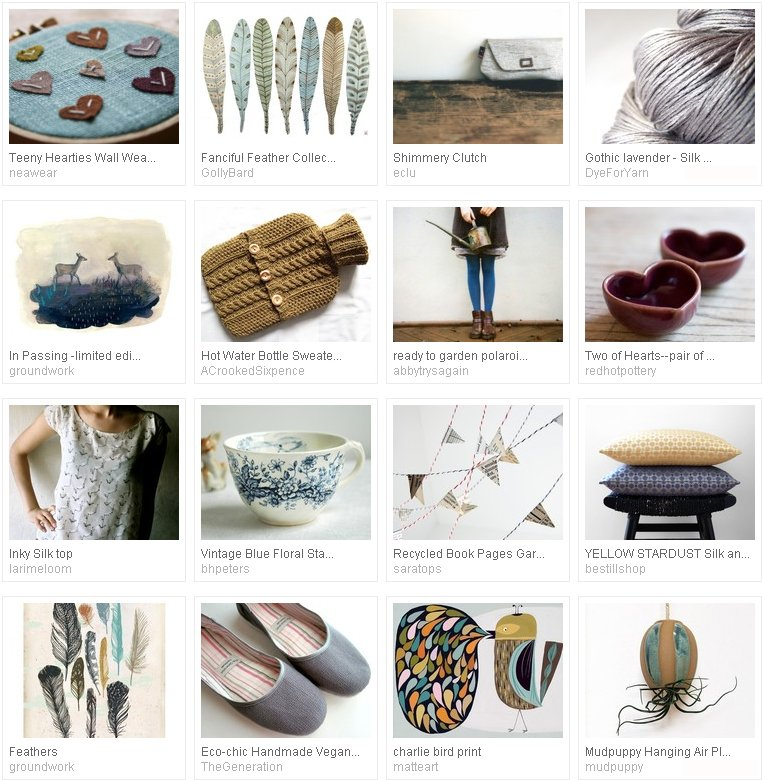 etsy favourites : simple charm - curated by Emma Lamb