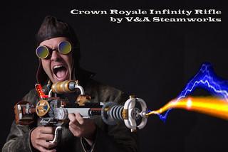 Crown Royale Infinity Rifle by V&A Steamworks - 無料写真検索fotoq