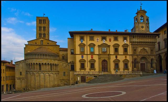 Piazza Grande de Arezzo