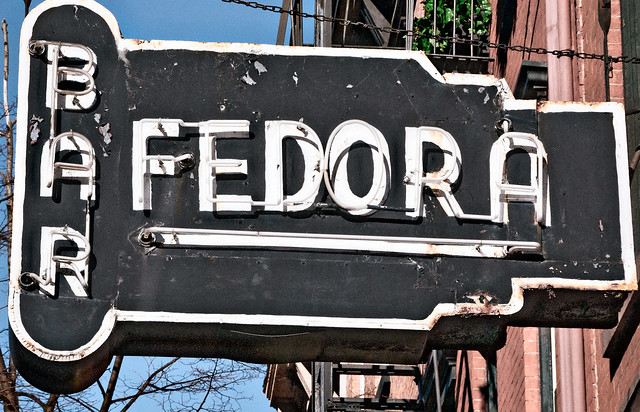 ... Fedora Restaurant (1952-2010), 239 West 4th Street, New York, New York