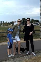 JP, Penny & Rachel at luscher farm