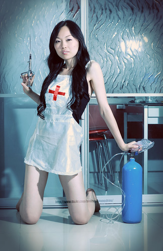 Sexy chinese nurse, Somebody get me a doctor