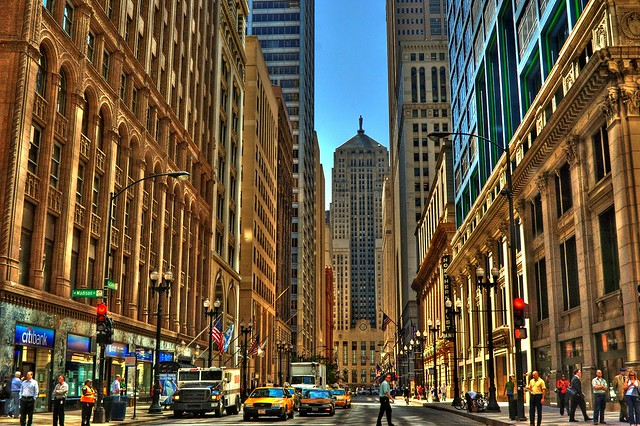Chicago39s Financial District  Flickr  Photo Sharing