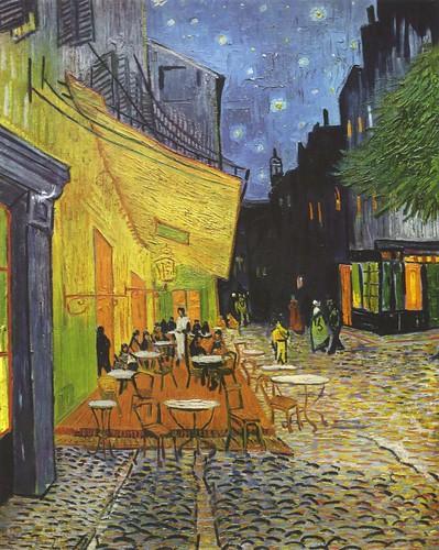 Terrasse de Cafe la Nuit-Van Gogh