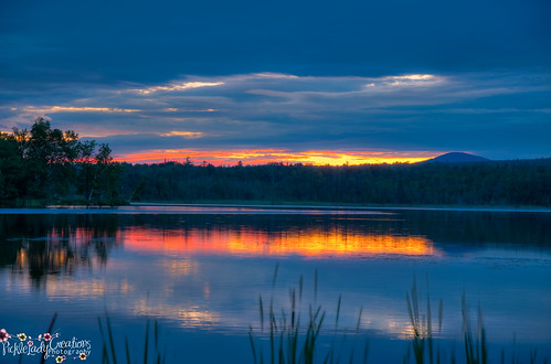 sunrise pond nikon horizon maine scenic haley rangeley d90 18105mm haleypond