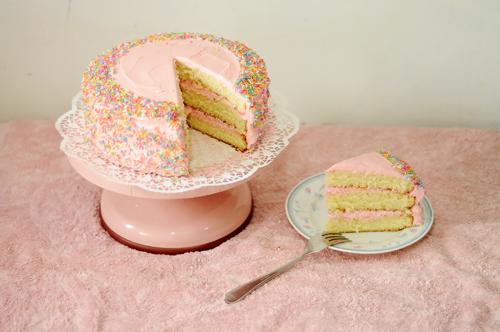 Pink Magnolia Cake Recipe Original