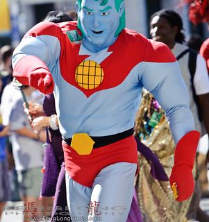 Dragon*Con Parade 2010 - Captain Planet