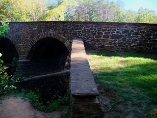 Image of Stone Bridge near Sudley. dc civilwar manassas bullrun