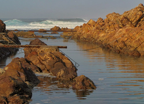Shoreline in Mossel Bay, South Africa