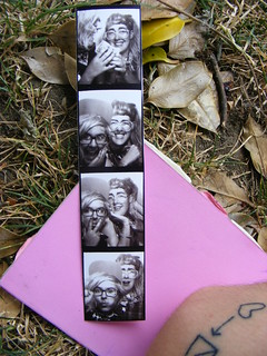 PHOTO BOOTH TAKEN AT THE KURT COBAIN EXHIBITON IN SEATTLE (HA)