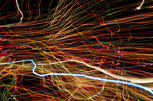 light trails by joeeisner