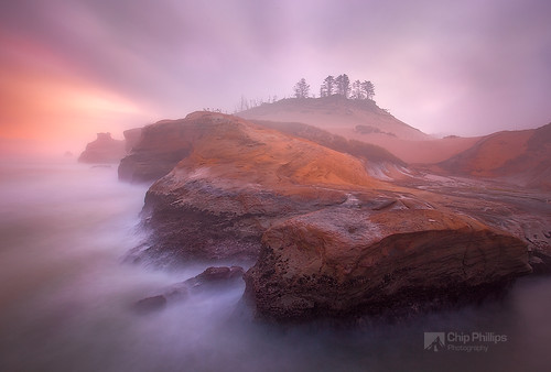 Misty Morning Cape Kiwanda