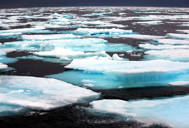 Nordkappsundet - Passage through the Pack Ice