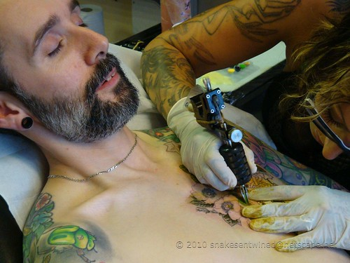 Tattooing with Jo Sept 2010