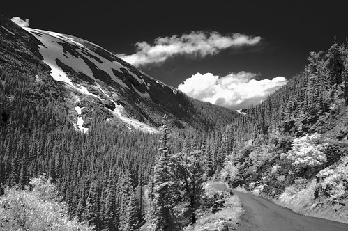 Rocky Mountain National Park infrared