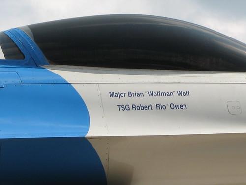 Highland Home Flying Squadron jet cockpit close up