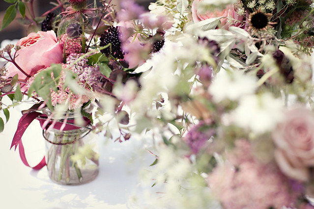 Ladies Lunch Flowers-Sunday Suppers-Camille Styles Events