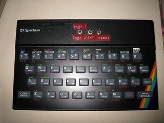 ZX Spectrum der NSA mit umschaltbarer Speicherbank  einer britischen Geheimdienstoperation des Government Communications Headquarters (GCHQ) zur Überwachung / Tempora 6007