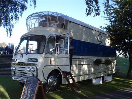 1967 Bedford SB3 vintage mobile cinema