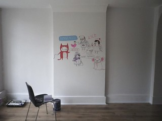 COMMA shop mural - Video