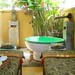 Small photo of Open-air massage room