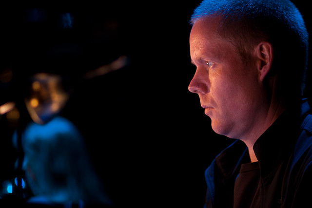 Max Richter's rehearsal of 'Infra' at the Cadogan Hall, London
