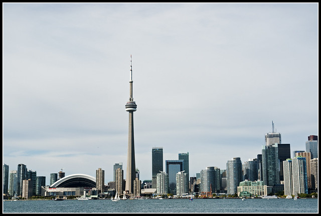 Downtown Toronto, from Centre Island (again)
