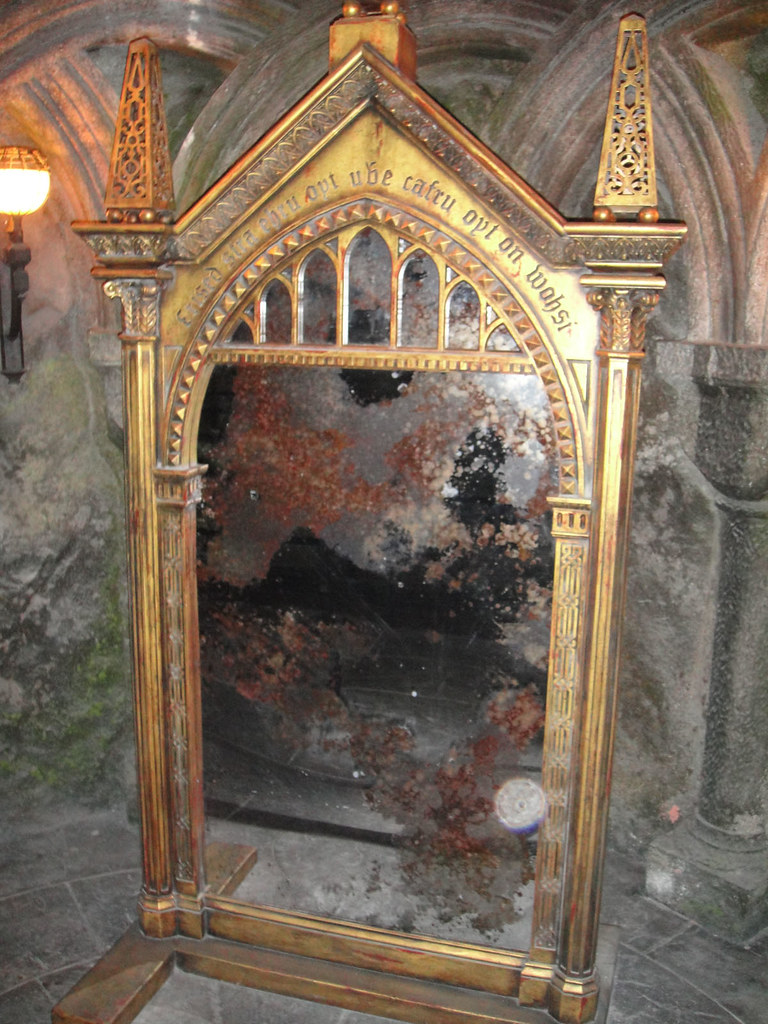 wizarding world of harry potter mirror of erised a
