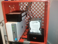 New home NAS and backup rig