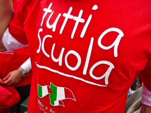 Tutti a scuola - Quirinale: Cerimonia inaugurazione anno scolastico 2010/2011 - Delegazione Scuole Basilicata