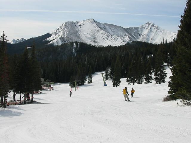 Teton Pass Montana ski slope