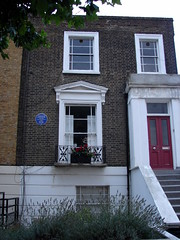 Photo of Theodor Fontane blue plaque
