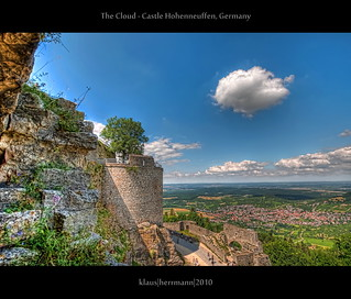 The Cloud - Castle Hohenneuffen, Germany (HDR)