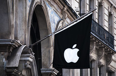 The Apple Store Flag